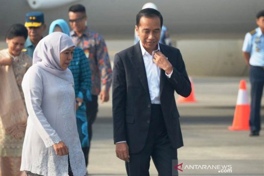 Khofifah doakan Jokowi diberi kekuatan bawa kemajuan RI
