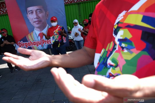 Ulang tahun Jokowi: Dubes Kim ucapkan selamat, unggah gambar tumpeng