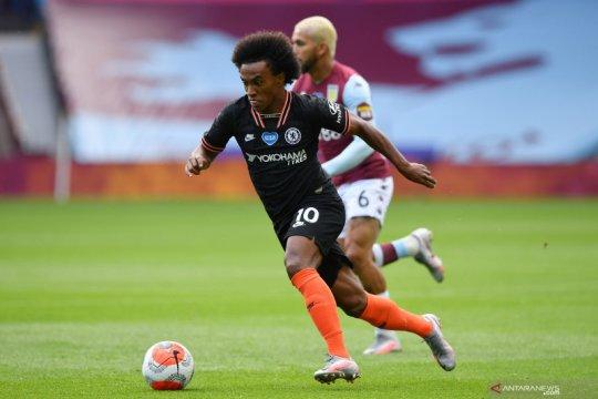 Willian sepakat bertahan di Chelsea hingga akhir musim