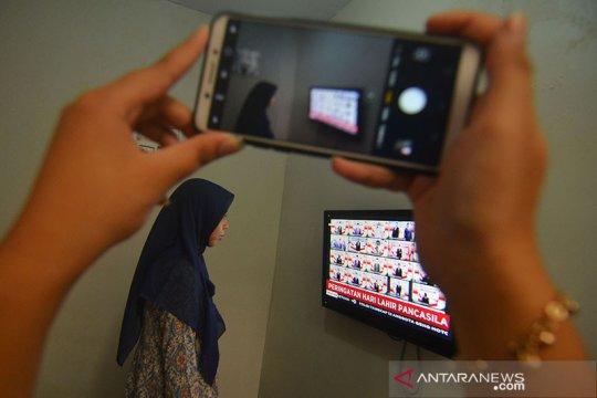 Kominfo: penggunaan aplikasi telekonferensi naik lebih 400 persen