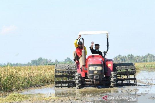 Mentan saat Hari Krida Pertanian: Momentum menuju pertanian modern