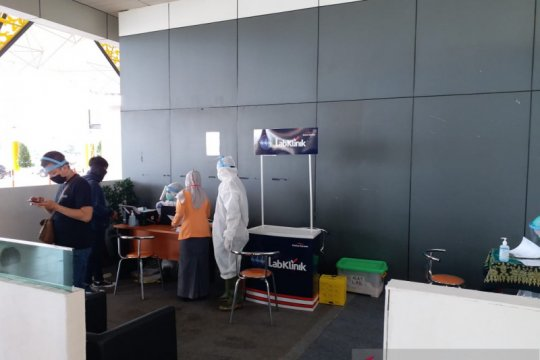 Bandara Jambi sediakan fasilitas pemeriksaan cepat