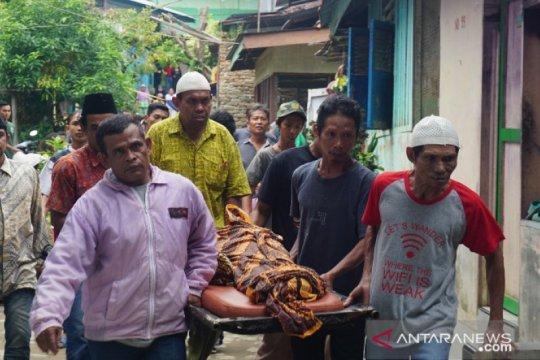 Jenazah bocah tewas di Global Prima Medan tiba di rumah duka