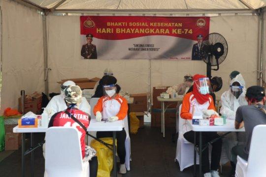 Polri: Tidak ada yang positif corona di rapid test CFD Jakarta