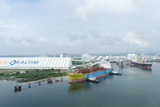 Anak usaha Pupuk Indonesia ekspor 5.000 metrik ton amoniak ke Filipina