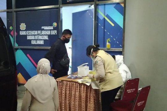 152 WNI deportasi Imigrasi Malaysia tiba di Bandara Kualanamu