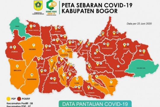 Tenjo satu-satunya wilayah steril COVID-19 Bogor, Pemkab ungkap alasan