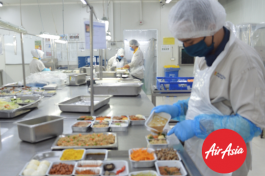 AirAsia tawarkan pesan makanan via daring, 24 jam sebelum terbang