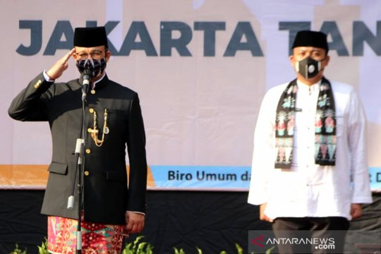 Anies berharap HUT Jakarta virtual jadi pengalaman baru warga