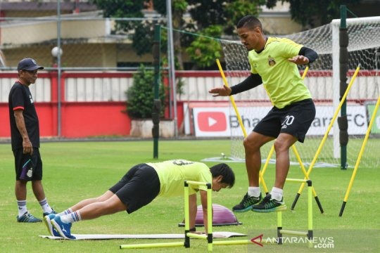 Bhayangkara FC akan uji coba untuk ukur perkembangan tim