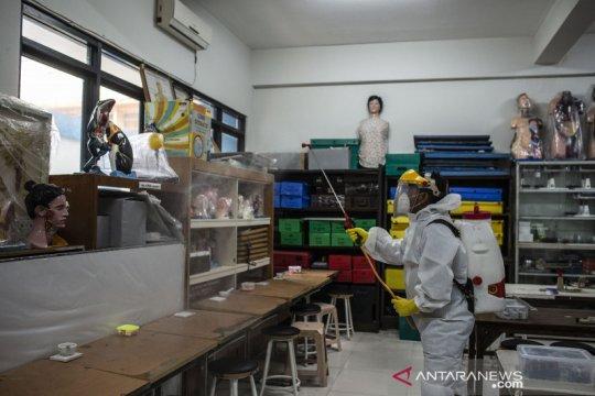 PMI targetkan semprot disinfektan 573 sekolah di Jakarta Pusat