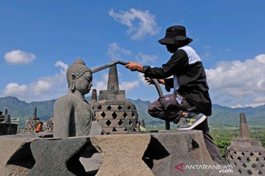 Balai Konservasi tunggu rekomendasi pembukaan zona I Candi Borobudur