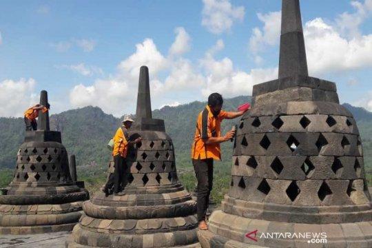 Borobudur disiapkan sebagai laboratorium konservasi cagar budaya
