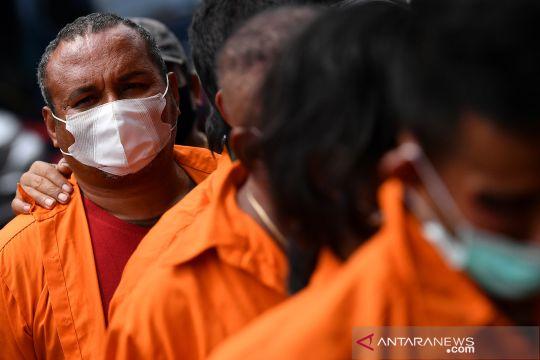Rilis kasus kejahatan kelompok John Kei
