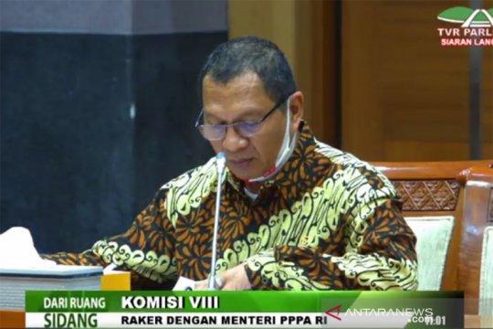 Komisi VIII DPR minta KPPPA perbaiki usulan anggaran untuk provinsi