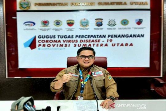 Kota Medan dan Deliserdang terbanyak positif COVID-19 di Sumut