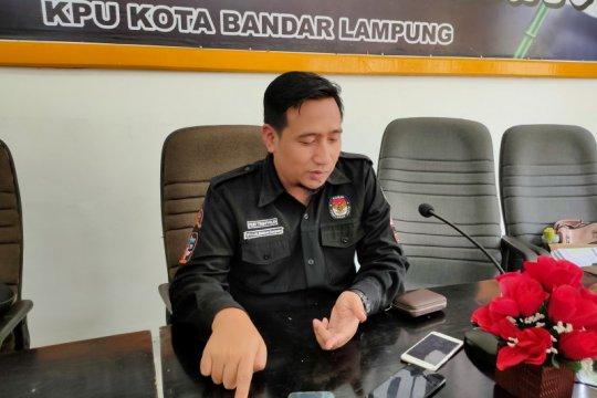 KPU Bandarlampung verifikasi 90.889 dukungan calon independen pilwakot
