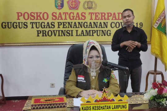 Hasil tes usap dua PDP meninggal di Lampung negatif COVID-19