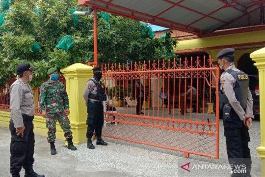 Pelempar diduga bom molotov rumah pejabat terekam CCTV
