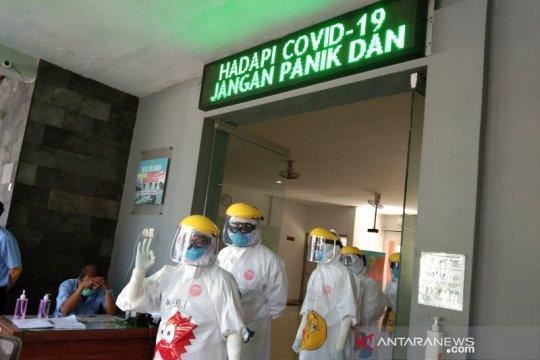 Seleksi warga, 200 pelaku perjalanan digelar di Bantul-DIY dites usap