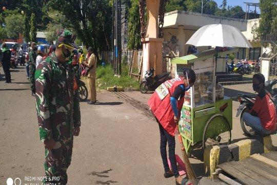 Di Jayapura warga tak gunakan masker diberikan sanksi
