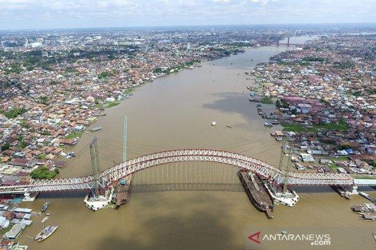Pembangunan Jembatan Musi VI dikerjakan lagi, target selesai November