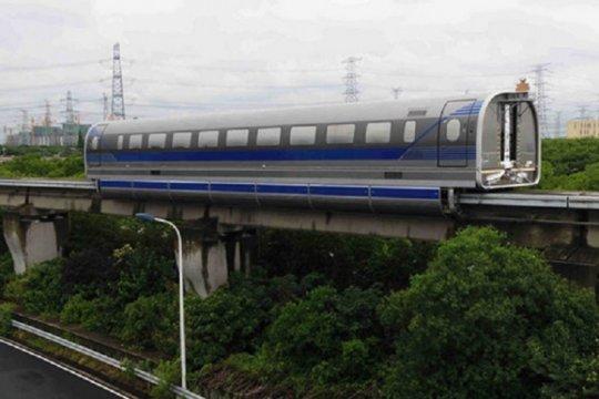 China sukses uji coba maglev berkecepatan 600 kilometer per jam