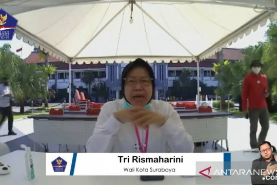 Tri Rismaharini: Tren COVID-19 di Surabaya turun