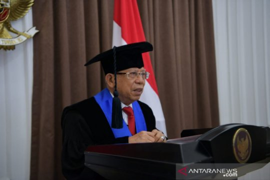 Wapres Ma'ruf harap ekonomi syariah berkembang cepat di Indonesia