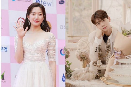 "Cha Eun-woo ASTRO & Moon Ga-young bakal main di drama ""True Beauty"""