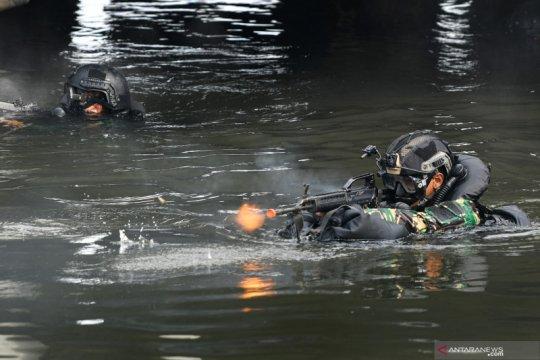 Kopaska TNI AL gelar Latihan Peperangan Laut Khusus