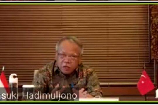 Menteri PUPR ajak kontraktor Turki menikmati kuliner Indonesia