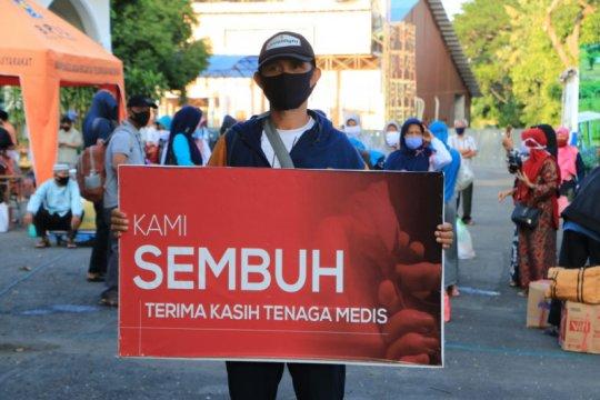 Tingkat kesembuhan OTG di Asrama Haji Surabaya tinggi