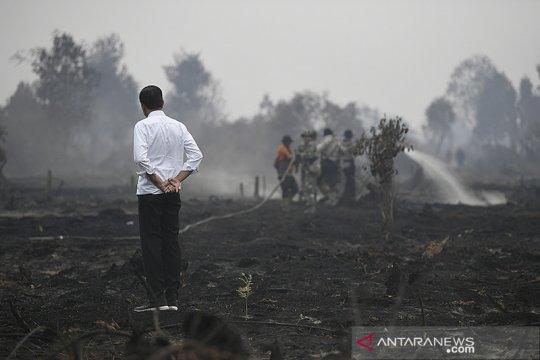 Presiden: Sudah 5 tahun karhutla Indonesia tak dibahas di ASEAN