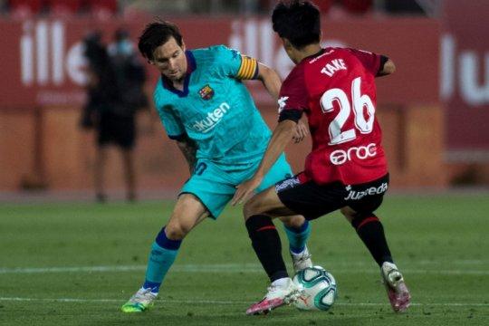 "Zidane manfaatkan duel lawan Mallorca untuk pantau ""Messi dari Jepang"""