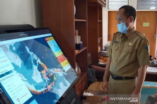 Kabupaten Kediri dapat bantuan alat informasi gempa WRS