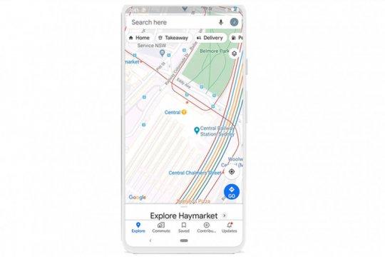 Google Maps bakal terkoneksi dengan banyak transportasi publik