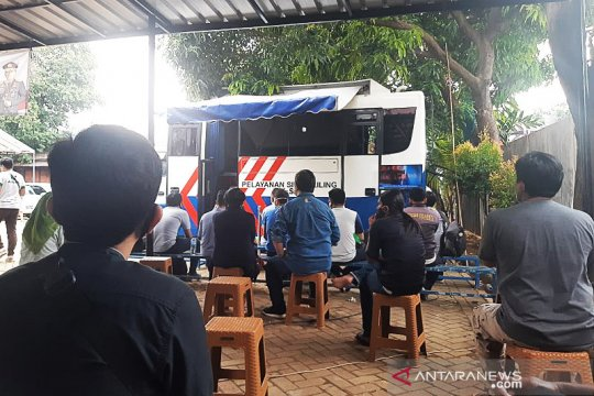 Ini lokasi layanan SIM keliling di Jakarta Kamis