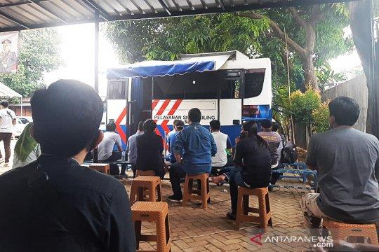 Jumat ini layanan SIM Keliling hadir di empat lokasi