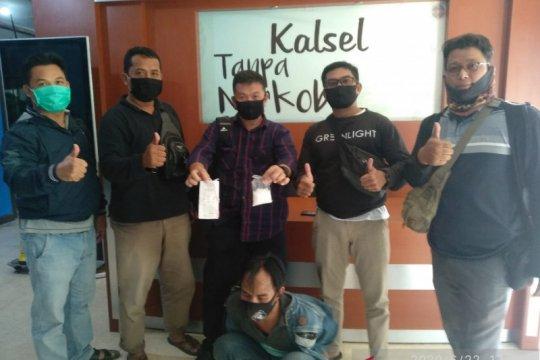 BNNP Kalsel menangkap tiga pengedar sabu-sabu