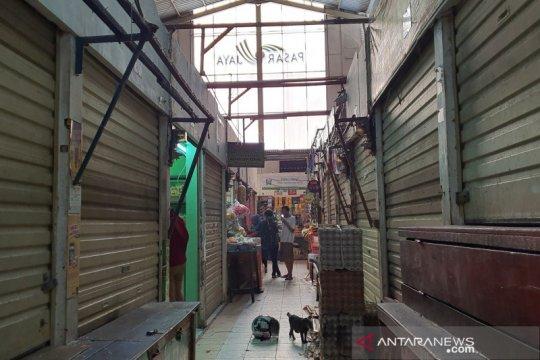 Pedagang hindari tes COVID-19, Pasar Gembrong sepi