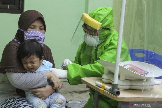 Meski pandemi, Kemenkes-IDAI sarankan imunisasi wajib untuk balita