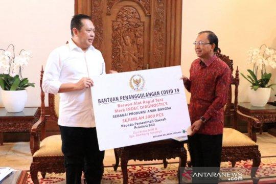 Bambang Soesatyo sumbang 5.000 alat rapid test untuk Pemprov Bali