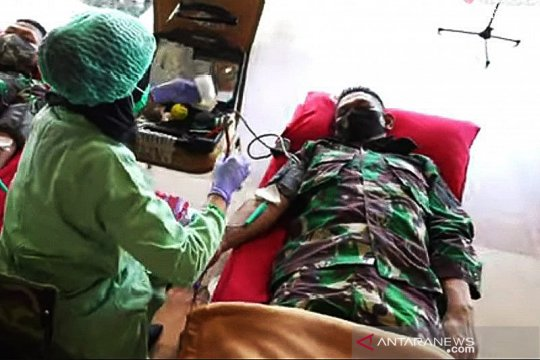 Instruksi Kasad, TNI AD gelar donor darah bantu pasok stok di RSPAD