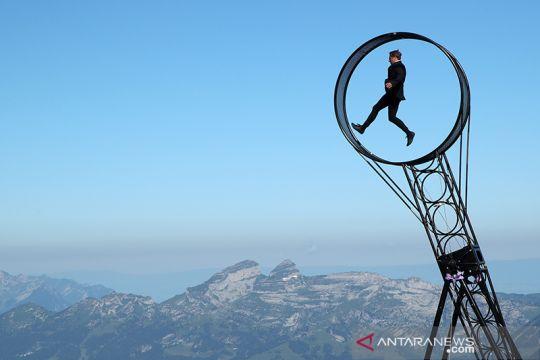 "Akrobat ""Wheel Of The Death"" usai penguncian wilayah di Swiss"