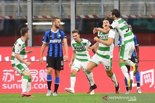 Inter ditahan imbang 3-3 oleh Sassuolo
