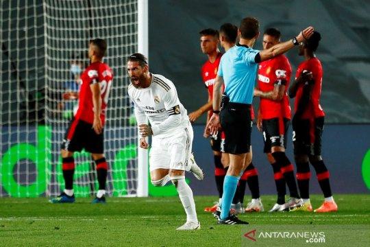 Atasi Mallorca, Real Madrid amankan kembali puncak klasemen