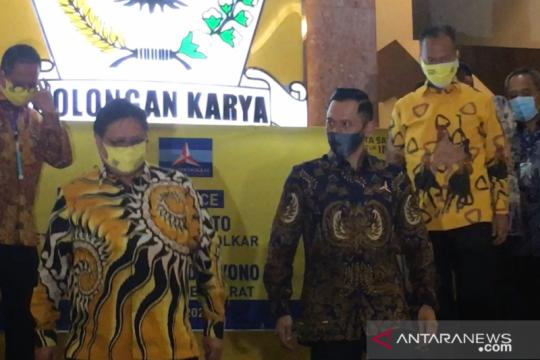 Golkar potensi koalisi dengan Demokrat di Pacitan dan Sulawesi Utara