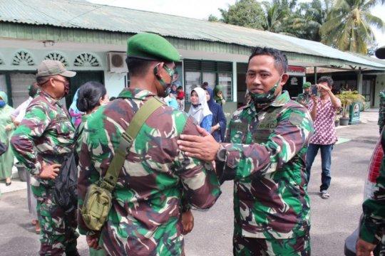 Lima anggota Kodim 0305/Pasaman Barat ke Papua misi operasi teritorial
