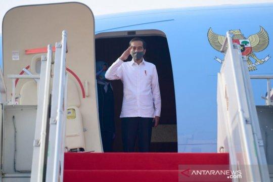 Presiden Jokowi bertolak ke Jatim, tinjau posko penanganan COVID-19